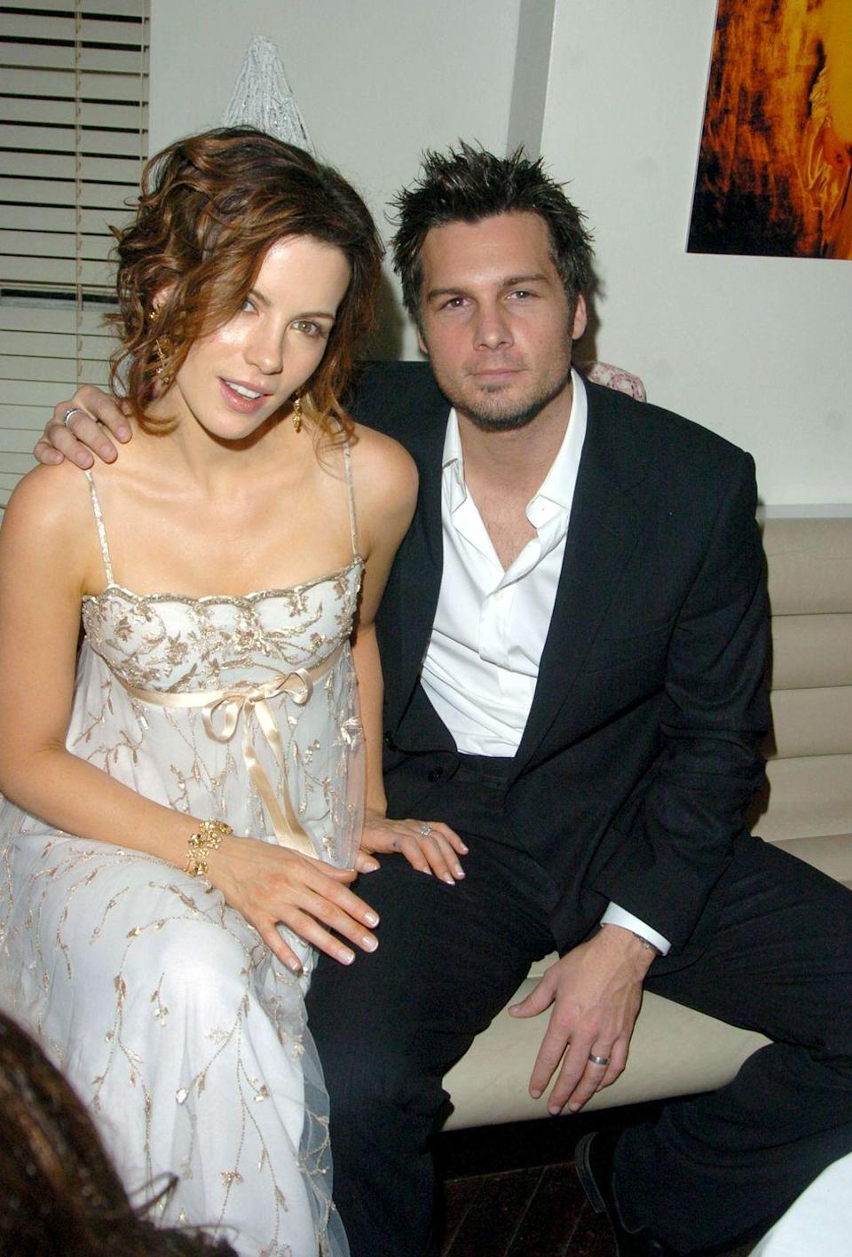 <p>Before Kate Beckinsale was linked to Goody Grace or Pete Davidson, she was married to director Len Wiseman. The couple got together after the actress's split from the father of her child, Michael Sheen, and made it official in 2004. They were married for 15 years before splitting in 2019. </p>