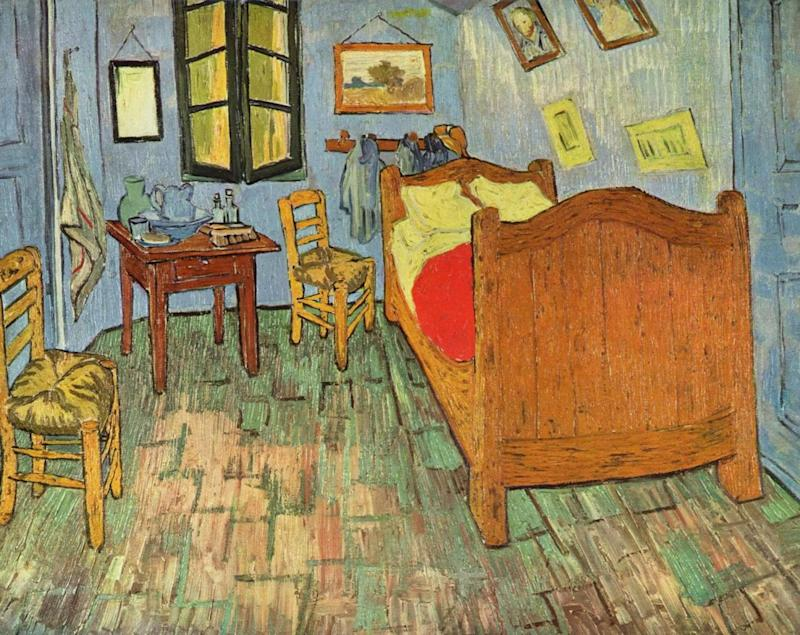 vincent van gogh s arles bedroom is for rent on airbnb
