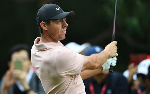 <span>McIlroy is not sure whether he can commit to European tour next season</span> <span>Credit: AFP </span>
