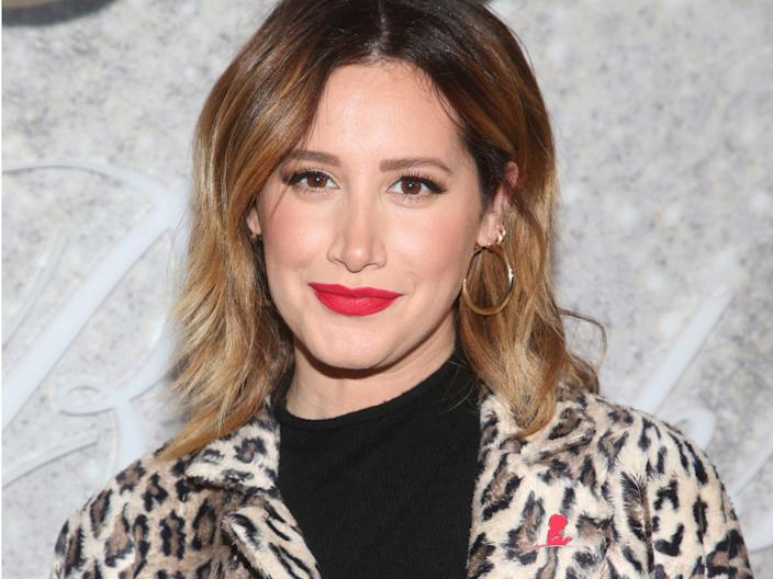 ashley tisdale december 2019