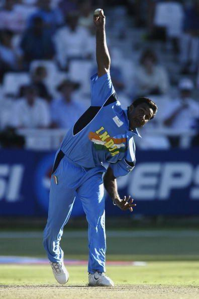 Javagal Srinath in action