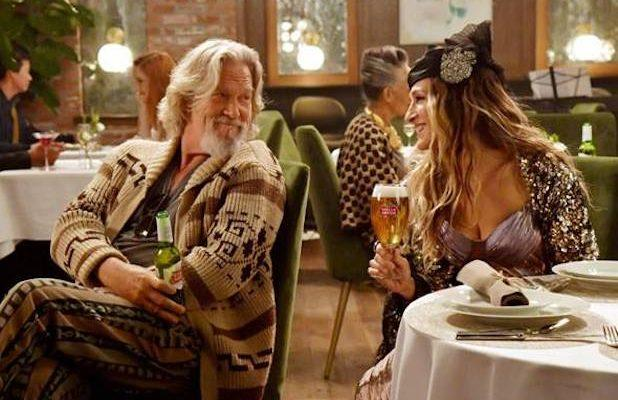 Watch Jeff Bridges and Sarah Jessica Parker Share a Beer as The Dude and Carrie Bradshaw (Video)