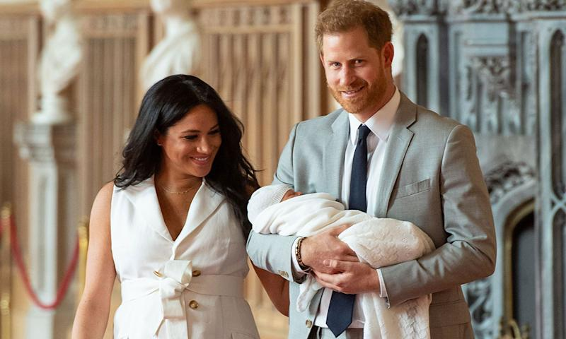 Celebrity daily edit: Baby Sussex introduced to world, James