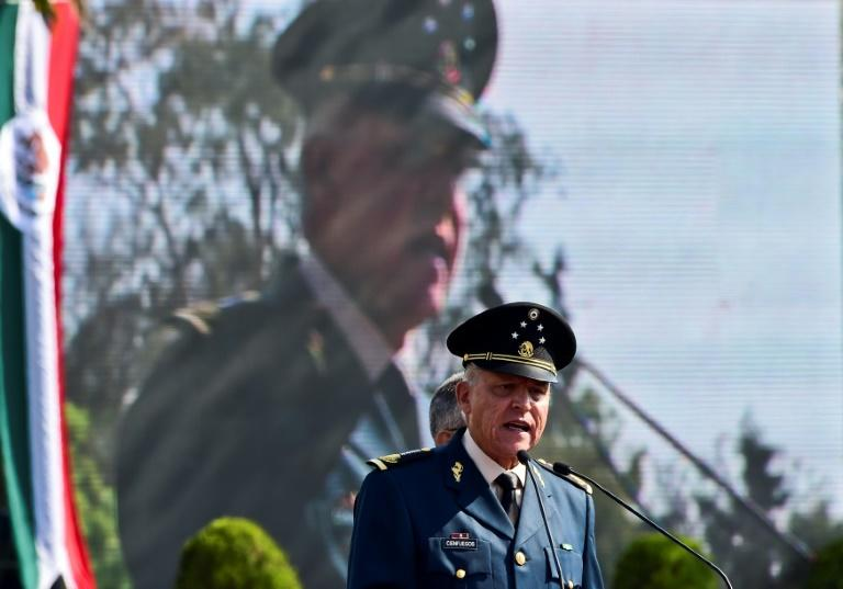 US charges Mexican ex-defense chief with drug trafficking