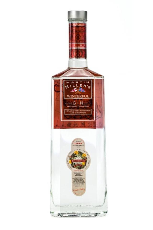 <p>Martin Miller's have created a Winterful gin, which, you guessed it(!), is inspired by the festive period. Paying homage to mulled wine, the recipe includes cinnamon, mandarin orange peel and cardamom, and can be enjoyed hot or cold.<br></p><p>Available in Waitrose nationwide from 26 October (£27.99) and on Amazon. </p>