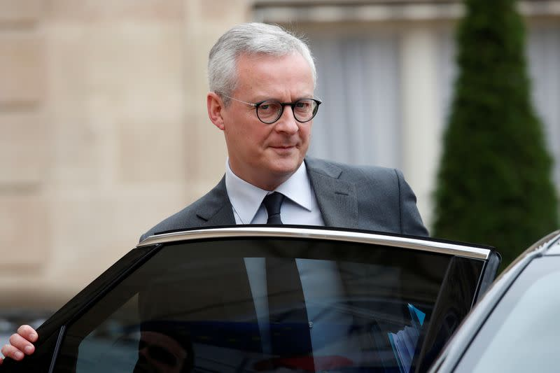 France to isolate COVID-linked debt in special structure - minister