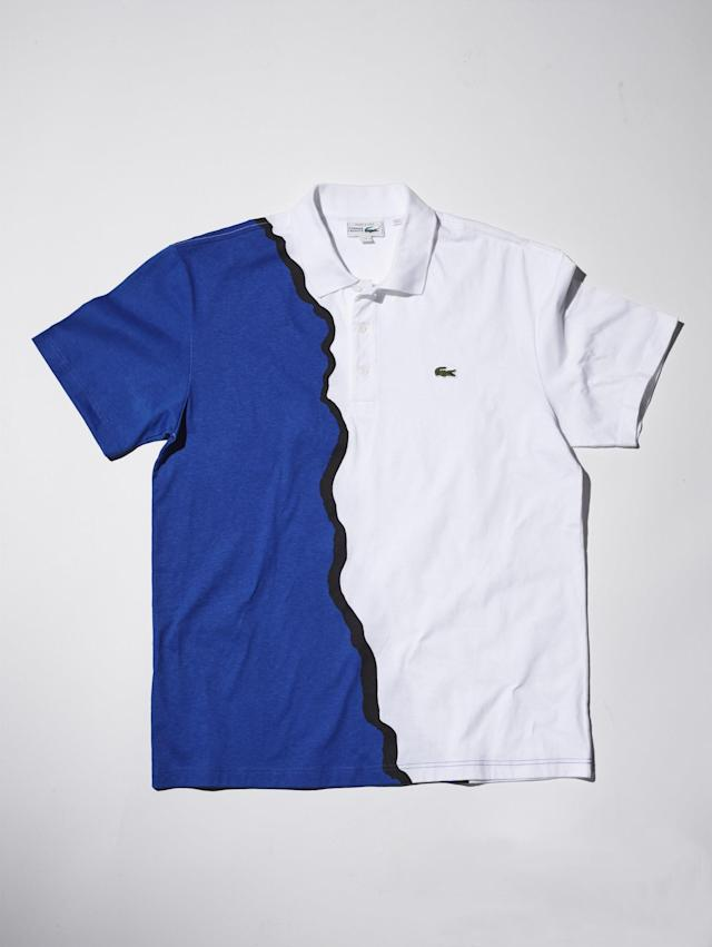 "<p>Part of the company's 85th anniversary throwback collection, this cotton jersey golf shirt is a nod to the colorful, offbeat 1990s style that continues to resonate today.</p> <p><strong><a href=""https://www.lacoste.com/us/85th-polo-re-edition-90.html"" rel=""nofollow noopener"" target=""_blank"" data-ylk=""slk:lacoste.com"" class=""link rapid-noclick-resp"">lacoste.com</a></strong>/$145</p>"