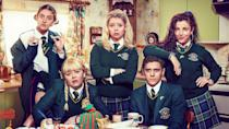 <p> <strong>UK:</strong> All 4, Netflix (season 1 only) </p> <p> <strong>US: </strong>Netflix </p> <p> The writing on Derry Girls is so good that you could base it anytime, anywhere, and still have a brilliant sitcom. However, it's the setting that gives the show poignancy and lifts it to instant classic status, as four girls (and a wee English fella) at a Catholic girls' school in Derry grow up against the backdrop of Northern Ireland's Troubles – and a soundtrack of classic '90s tunes. Featuring dead nuns, a hot priest, and a disastrous exchange with a Protestent boys' school, the situations are brilliantly constructed, and the gags non-stop. </p>
