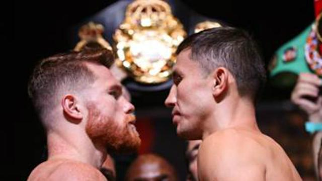 Canelo Alvarez and Gennady Golovkin are set to square off Saturday in a battle of the two best middleweights on the planet. (Getty)