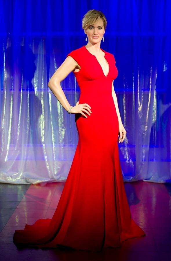 Kate Winslet waxwork goes on display at Madame Tussauds