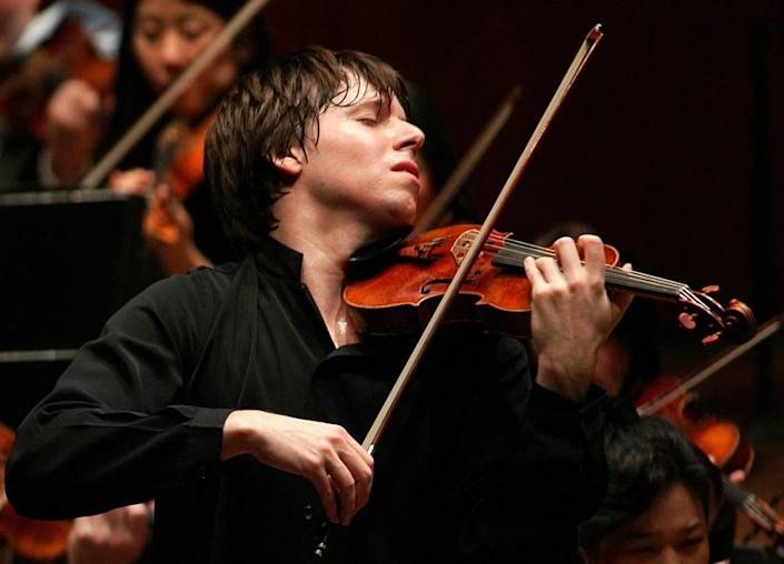 Grammy-winning violinist Joshua Bell and the Academy of St Martin in the Fields will perform two nights at the Arsht Center.