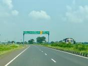 <p><strong>National Highway 53</strong>, combination of old (NH6 Surat-Kolkata), (NH200 Bilaspur-Chandikhole) & (NH5A Chandikhole-Paradeep) is a national highway in India. It connects Hajira in Gujarat and Paradeep port in Odisha. NH-53 traverses the states of Gujarat, Maharashtra, Chhattisgarh and Odisha in India. The road is the part of AH46 network in India and it is officially listed as running over 1949 km (1211mi) from Kolkata to Surat. it is also known as Surat - Kolkata Highway. It passes through Maharashtra,Chhattisgarh and Odisha states.</p>