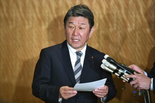 Foreign Minister Toshimitsu Motegi is urging Japanese citizens to refrain from foreign travel due to the coronavirus pandemic