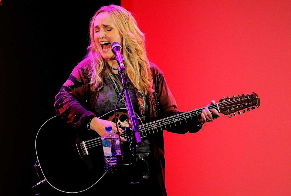 "<p><strong>Melissa Etheridge </strong></p><p> From Leavenworth, Kansas, Melissa Etheridge's debut album in 1988 was a sleeper hit. She kept the momentum going with her breakthrough album, <em>Yes I Am</em> with her biggest song ""Come to My Window."" After being diagnosed with breast cancer in 2004, she returned to the Grammy stage in 2005 with a bald head and a performance of bravery that defined her career.</p>"
