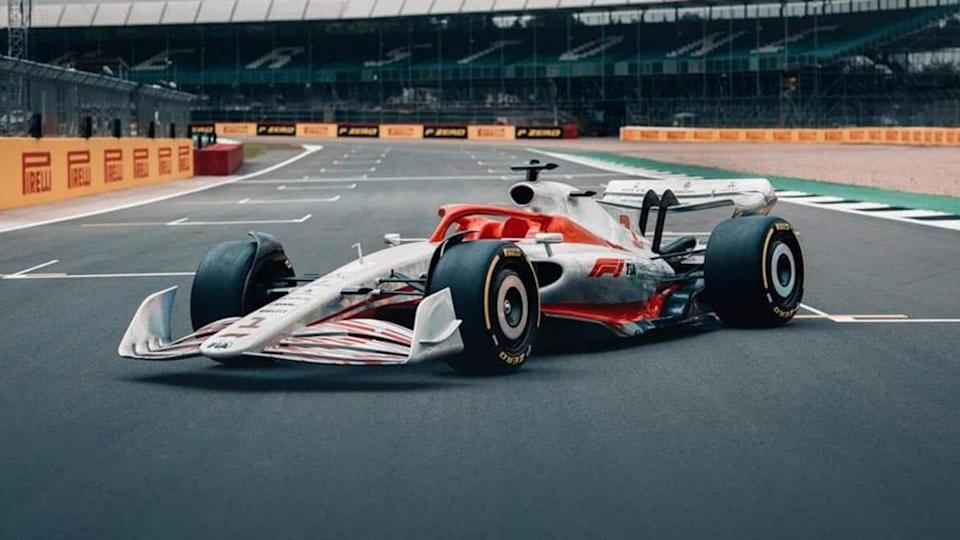 2022 Formula One racing car, with nifty design improvements, revealed