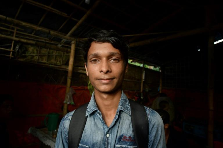 Rohingya refugee Sawyed Ullah, 18, fled military-backed violence in Myanmar and will not be able to vote in this week's election