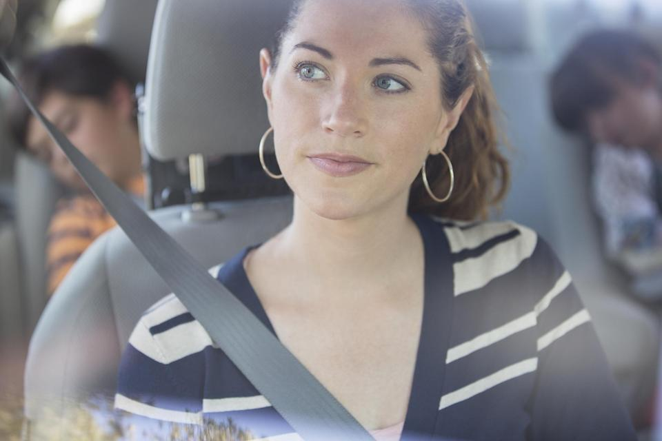 Parents are confused about car seat safety [Photo: Facebook/Jenna Casado Rabberman]