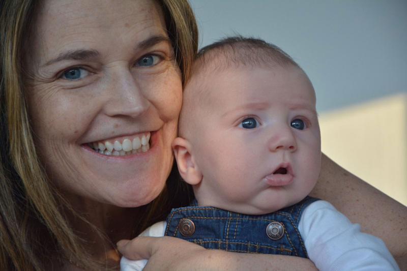 aa9010ab30 Sibling Bonds and Sweet Baby Snuggles! Savannah Guthrie Shares Heartwarming  Home Videos from Her Maternity Leave