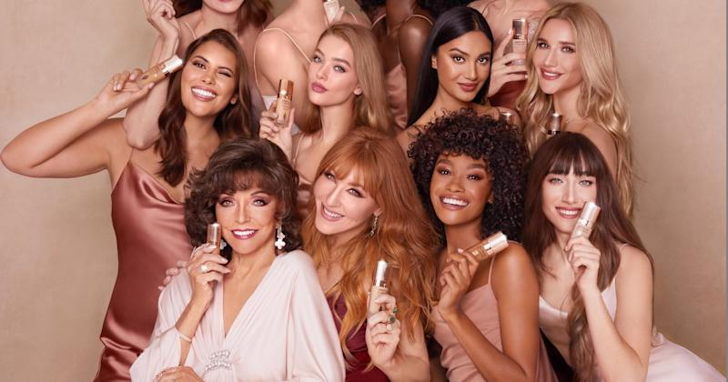 Dame Joan Collins stars in the latest Charlotte Tilbury campaign [Photo: Charlotte Tilbury]