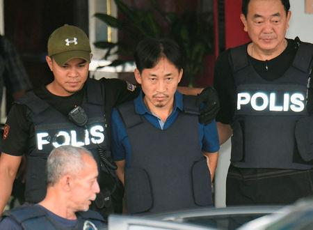 North Korean suspect in Kim Jong Nam murder, Ri Jong Chol, leaves a Sepang police station to be deported, in Malaysi
