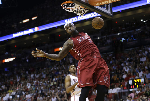 LeBron James was at the height of his powers in 2013. (AP Photo/Lynne Sladky)