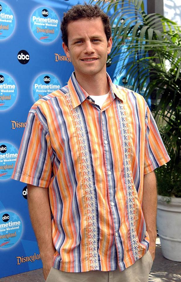 """Kirk Cameron (""""Growing Pains"""") turns 41.  Mike Guastella/WireImage.com - September 12, 2004"""