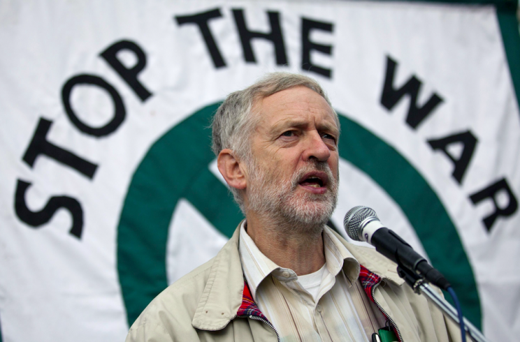 Mr Corbyn took over the role of chair of Stop the War from Mr Murray (Rex)