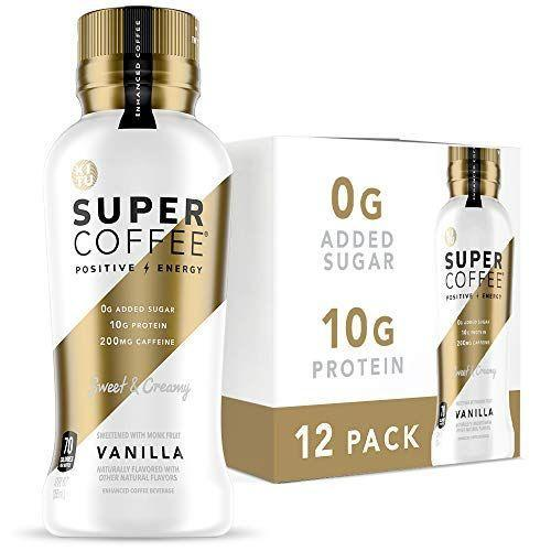 """<p><strong>SUNNIVA SUPER COFFEE</strong></p><p>amazon.com</p><p><strong>$33.95</strong></p><p><a href=""""https://www.amazon.com/dp/B078TNK12Y?tag=syn-yahoo-20&ascsubtag=%5Bartid%7C10056.g.36801416%5Bsrc%7Cyahoo-us"""" rel=""""nofollow noopener"""" target=""""_blank"""" data-ylk=""""slk:Shop Now"""" class=""""link rapid-noclick-resp"""">Shop Now</a></p><p>If your AM workout routine requires a bit of a dose of caffeine, this protein-infused coffee isn't only delicious, it also happens to be sugar-free. Now's definitely the time to stock up on all their delicious flavors. (They're great to travel with, too.)</p>"""