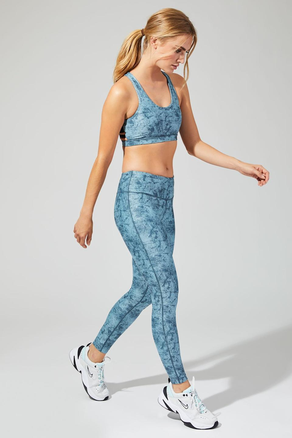Shoreline Printed 7/8 Leggings - MPG Sport $25 (originally $76)
