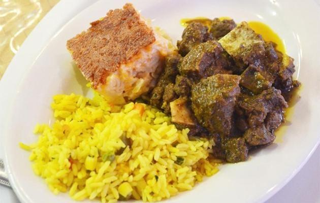 My favourite Trinidadian 'oily' food. Source: Supplied