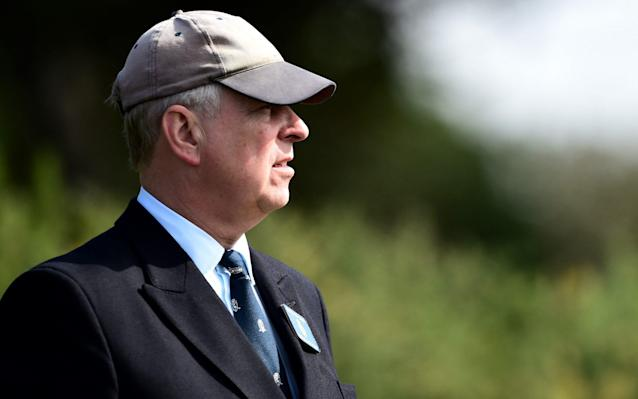 The Duke's decision to step back from his royal duties will be on the agenda of the club at a meeting next month - R&A