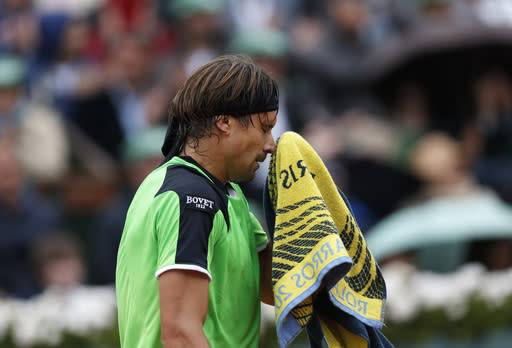 Malisse ousts Ferrer on grass in Netherlands