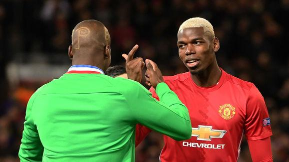 Manchester United midfielder Paul Pogbais currently the most expensive footballer in the world. And although he's taken time togrow into his new boots, the Frenchman put in an impressive show against Saint-Etienne on Thursday in a Europa League tie. Pogba comes from a trio of footballing brothers, and Saint-Etienne happens to be where his older brother Florentin Pogba plays. The senior Pogba - a left back - did struggle a little against the Red Devils, but not before putting Zlatan...