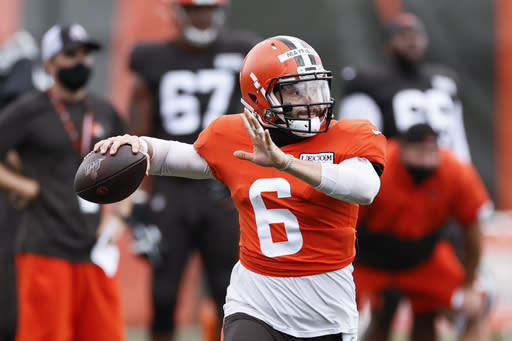 Division rivals Ravens, Browns confront 'unknowns' in opener