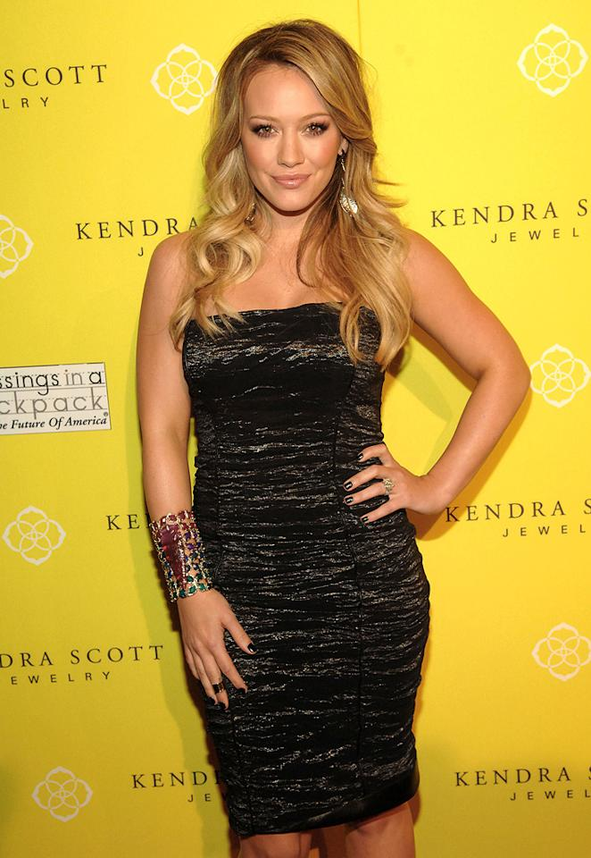 "Hilary Duff turns 24. <a href=""http://www.wireimage.com"" target=""new"">WireImage.com</a> - August 10, 2011"
