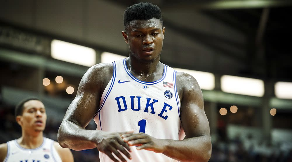 Hoops trial: Taped conversation of Kansas' recruitment of Zion Williamson ruled inadmissible
