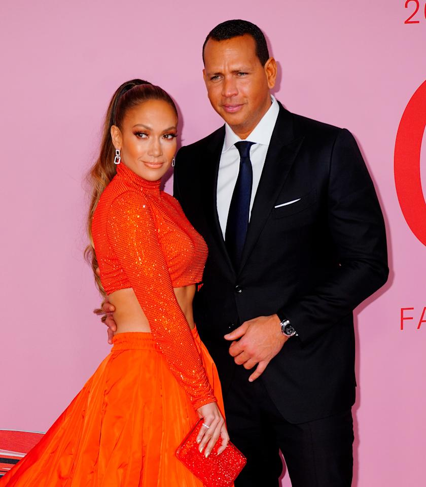 """A. Rod popped the question to J. Lo in a perfectly lit beach scenario in March. He later said that he <a href=""""https://www.glamour.com/story/alex-rodriguez-proposal-to-jennifer-lopez-new-details?mbid=synd_yahoo_rss"""">rehearsed for three days</a> ahead of time, which also feels appropriate when proposing to one of the most famous women in the world. Naturally, <a href=""""https://www.instagram.com/p/Buzz2J8ADNB/?utm_source=ig_embed"""">the ring</a> is insane."""