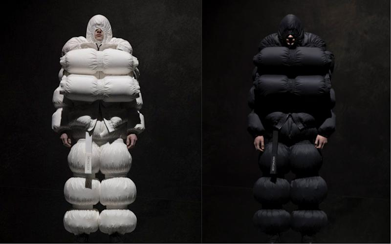 reputable site d8576 de980 Moncler fashion line mocked on social media for resemblance ...