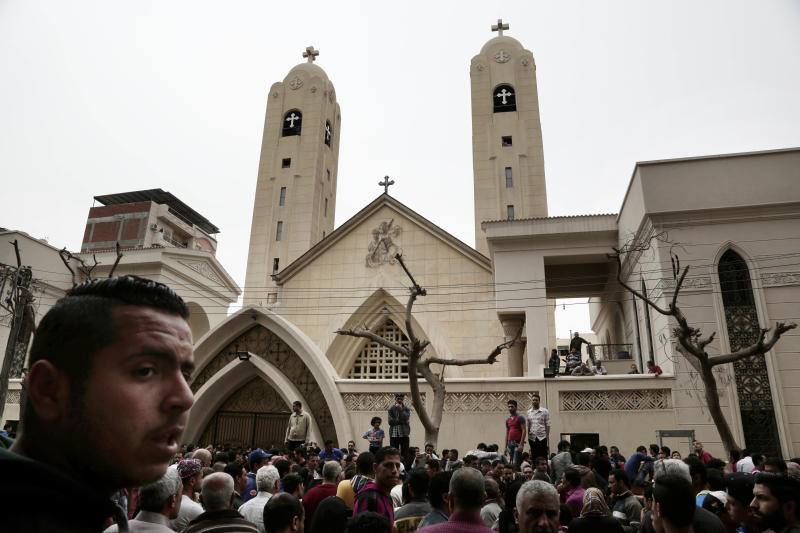 Egypt's Catholic, Anglican churches cancel Easter celebrations over Sunday church bombings
