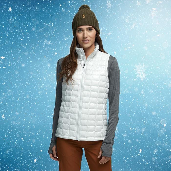 This lightweight vest has superpowers when it comes to warmth. (Photo: Backcountry)
