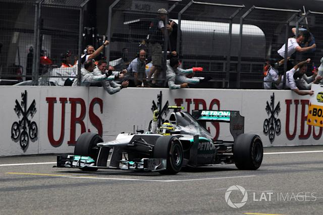 """Nico Rosberg, Mercedes AMG F1 W03 (2012) <span class=""""copyright"""">Sutton Motorsport Images</span>"""