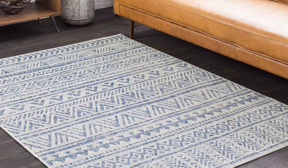 Got an enclosed porch or high-traffic area? Then we've got a rug for you. (Photo: Wayfair)