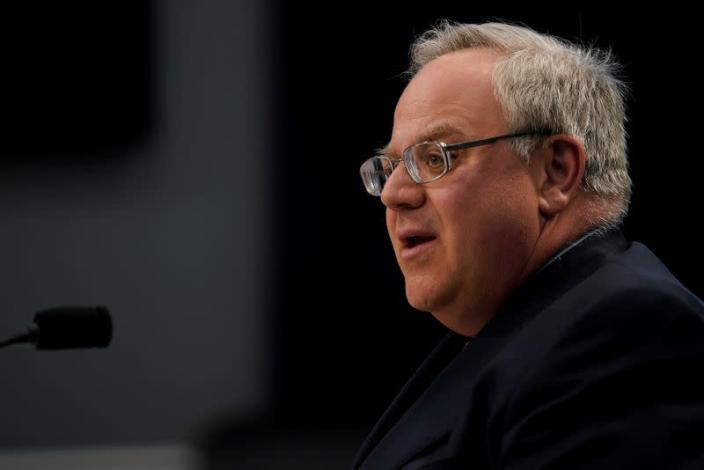 Interior Secretary David Bernhardt testifies before a House Appropriations Interior, Environment, and Related Agencies Subcommittee hearing on the Interior Department's FY2020 budget request on Capitol Hill
