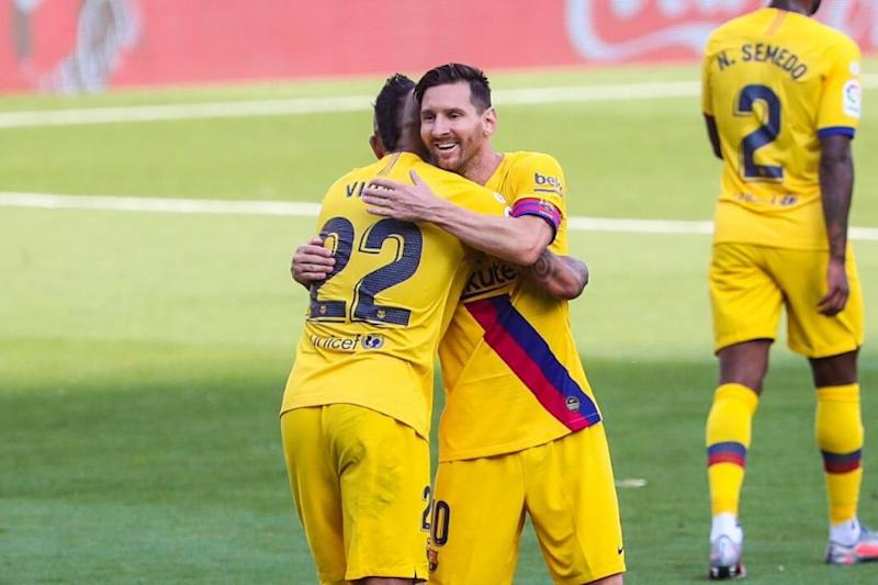 La Liga: Lionel Messi Gets 20th Assist as Barcelona Grind Out 1-0 Win over Valladolid to Stay on Real Madrid's Heels