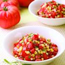 <p>This simple sauté combines two summer stars--corn and tomatoes. If you don't have fresh basil or tarragon, use whatever is best out of your herb garden.</p>