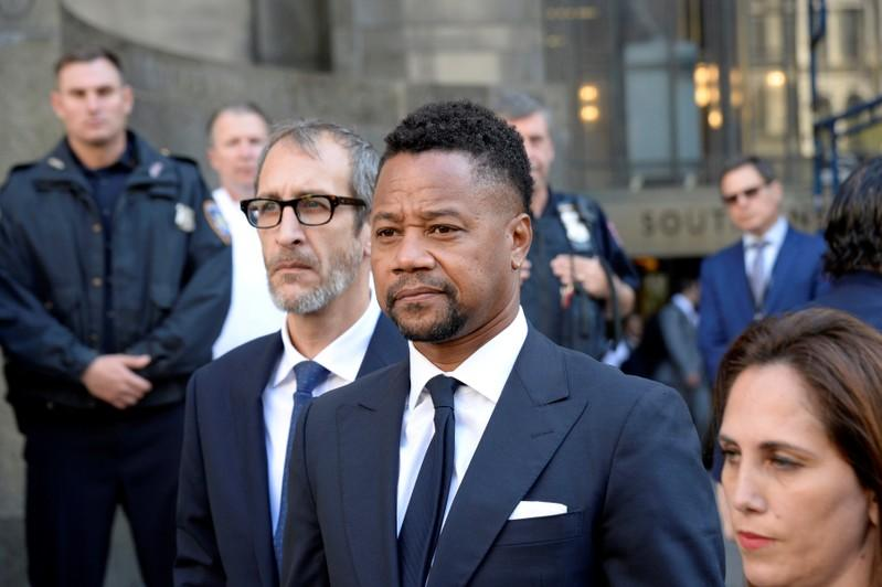 Actor Cuba Gooding Jr charged with unlawfully touching third woman: lawyer