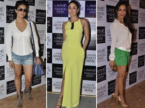 Celeb Style: At Lakme Fashion Week Winter/ Festive 2013