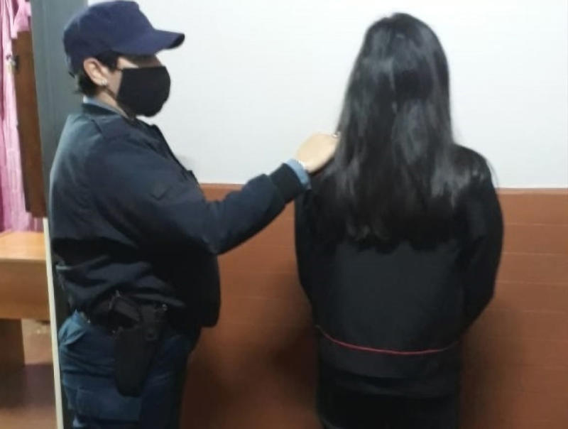 The mum was arrested but it is unknown if she's been charged. Source: Source: Newsflash/Australscope