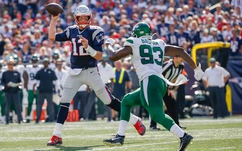 <span>Tom Brady found life easy against the Jets</span> <span>Credit: USA Today </span>