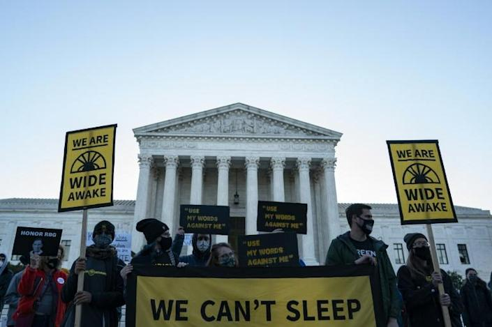 The fight over filling the ninth Supreme Court seat is adding new volatility to the US elections